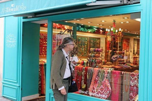 A colorful Montmarte shop