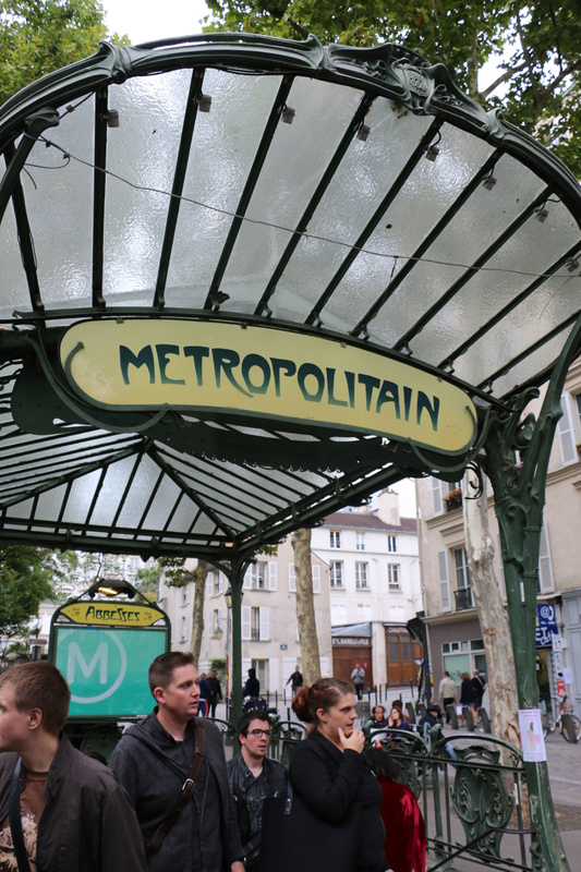 Abbesses Metro Station-A Classic Metro entrance