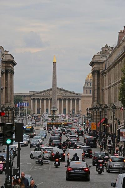 Place de la Concorde from La Madeleine