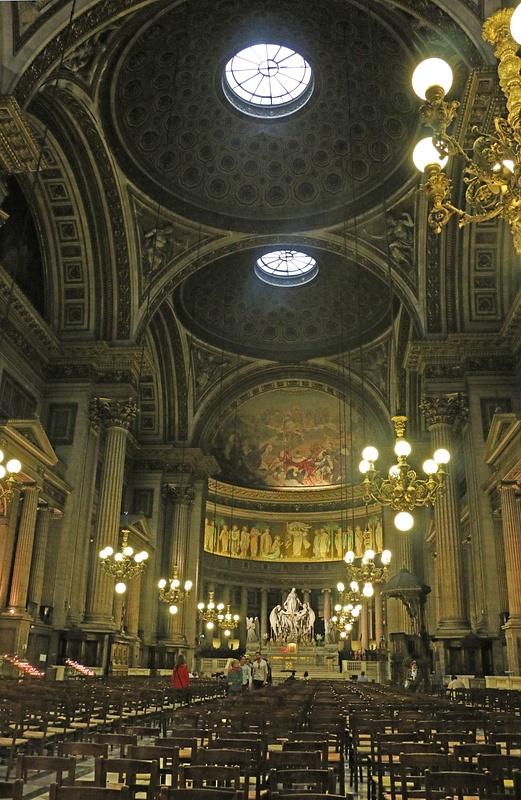 Interior of La Madeleine