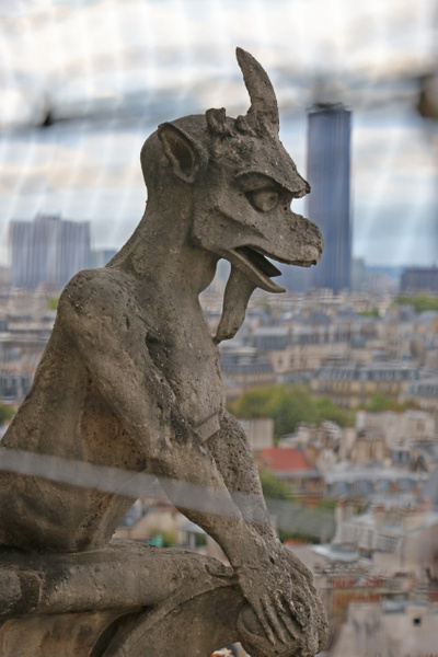 Chimera-Cathedral of Notre Dame
