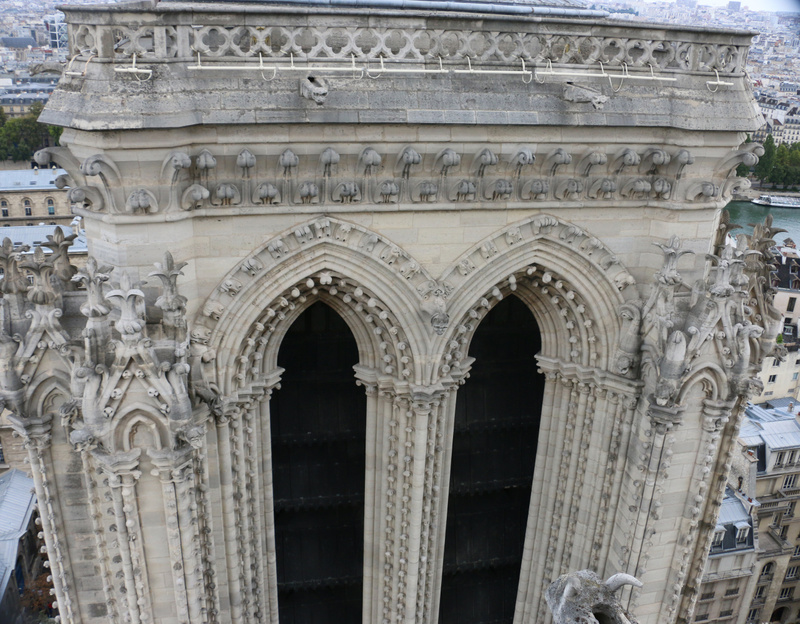 The north tower, Cathedral of Notre Dame