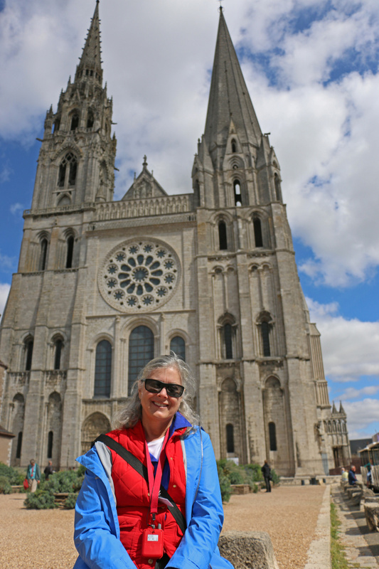 Georgia and Chartres Cathedral