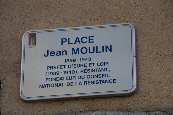 The home of Jean Moulin, a hero of the Resistance against the Nazis