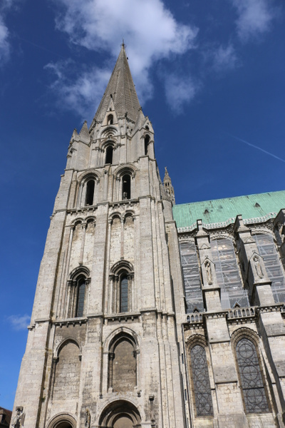 Chartres Cathedral: The south tower