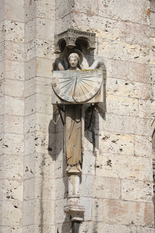 Sundial Angel, Chartres Cathedral