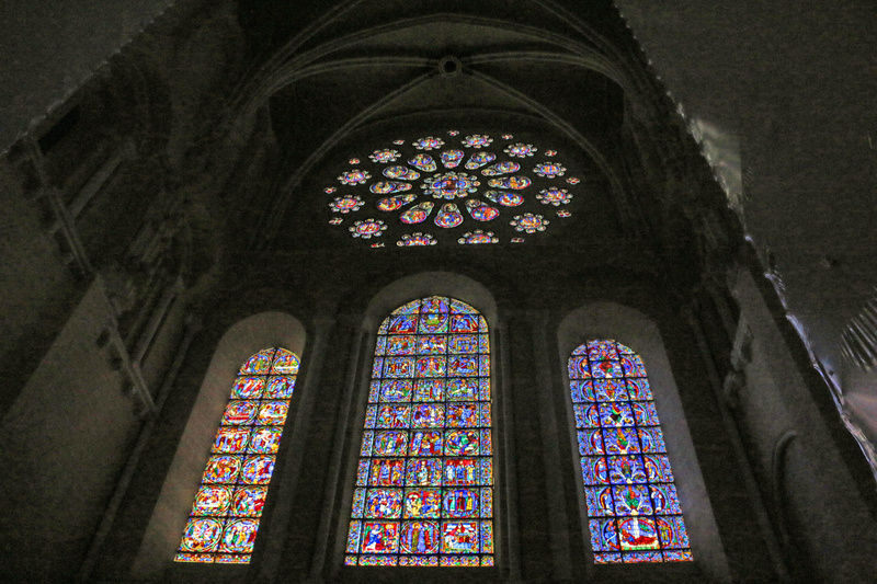 Chartres Cathedral-Western facade rose window