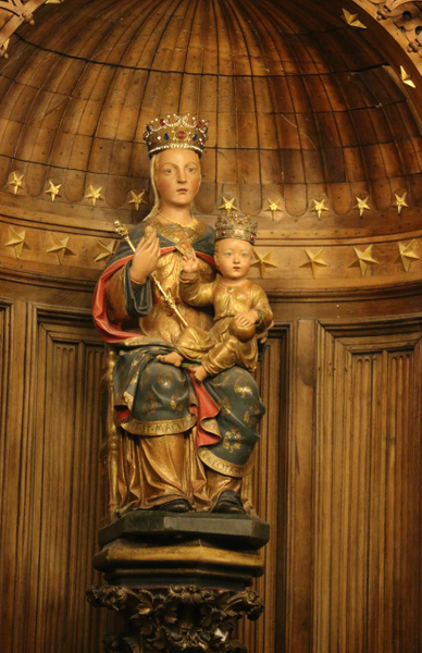 Chartres Cathedral-The Virgin Mary and Christ Child