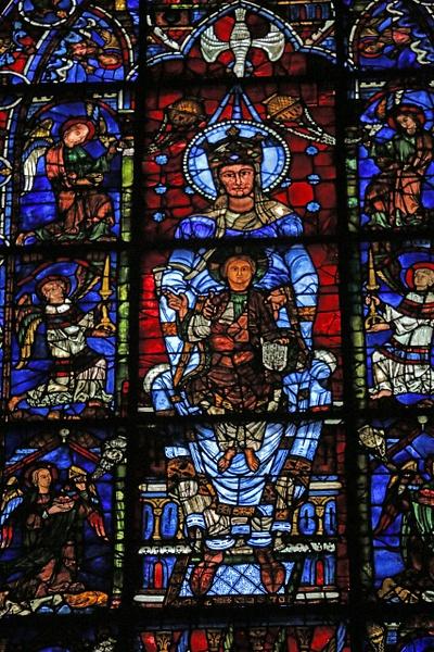 Chartres Cathedral-Notre-Dame de la Belle-Verrière window