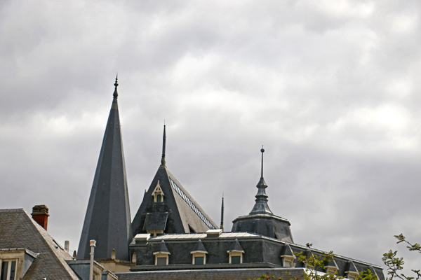 Chartres spires