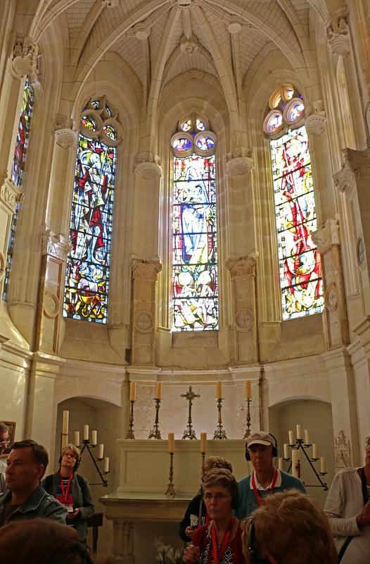 The  château's chapel