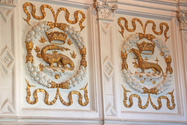 Detail-Louis XIV Drawing Room