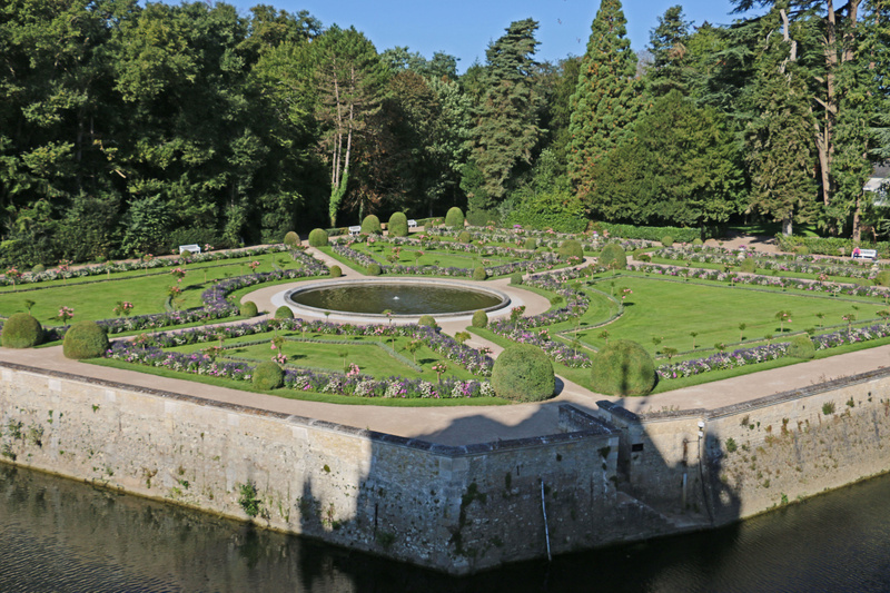Garden of Catherine de Médicis, a one time regent of France