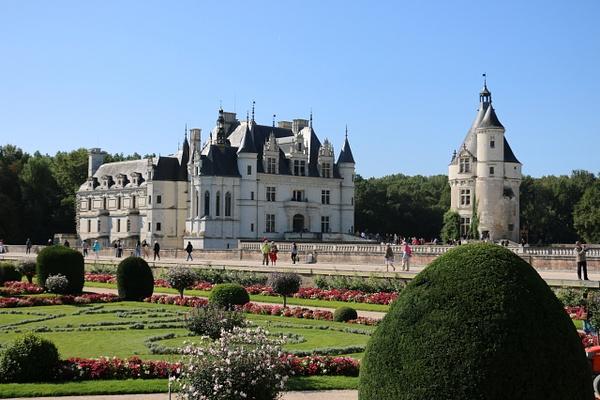 Château de Chenonceau from Diane's garden