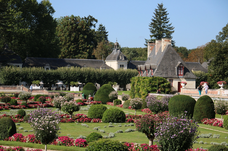 The Domes Gallery and Chancellerie from Diane's Garden