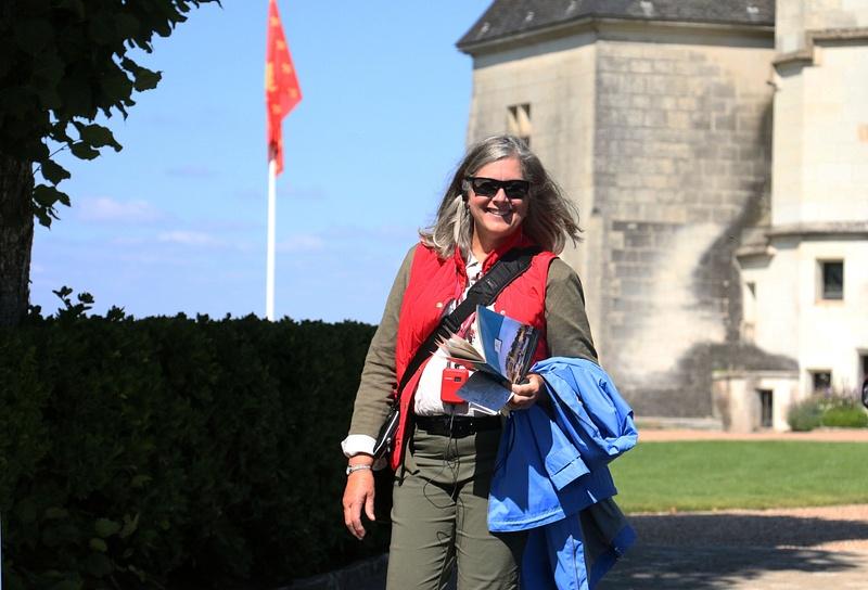 Georgia at Château d'Amboise