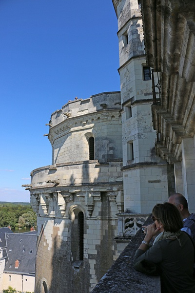 The turrets of Château d'Amboise