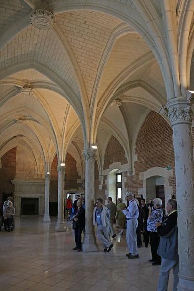 Vaulted ceiling-Château d'Amboise