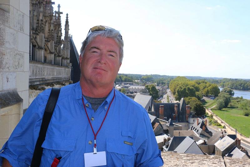Tom at Château d'Amboise