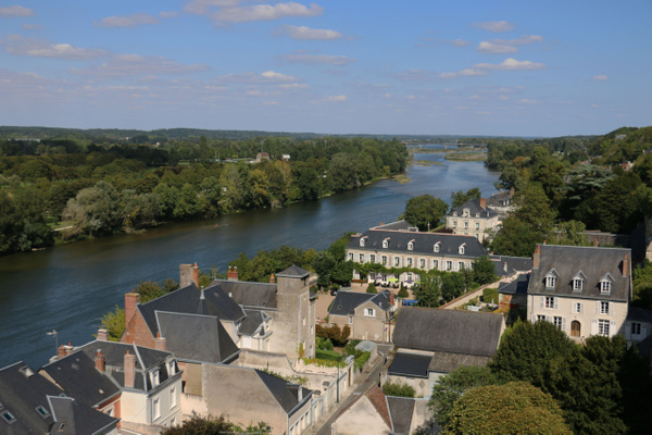 The Loire snakes past Amboise