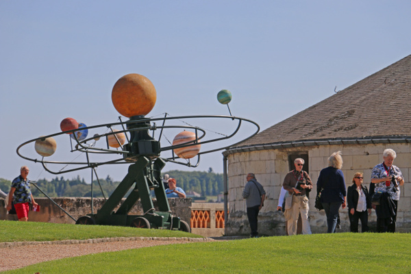 A model of the  solar system