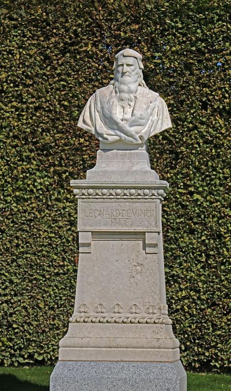 The great Leonardo da Vinci, who died at Chateaux Amboise