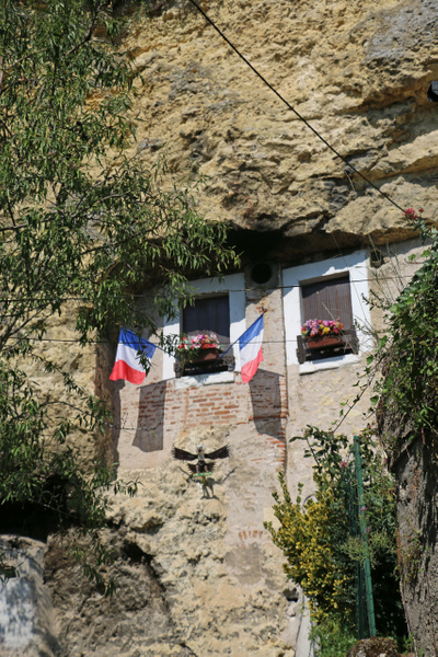 A cave residence in Amboise