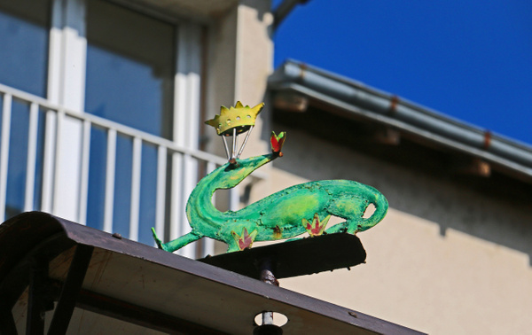 The Royal Salamander--The symbol of King Francis I of France
