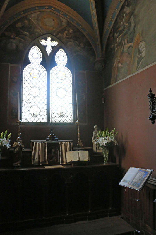 The chapel of Clos Lucé
