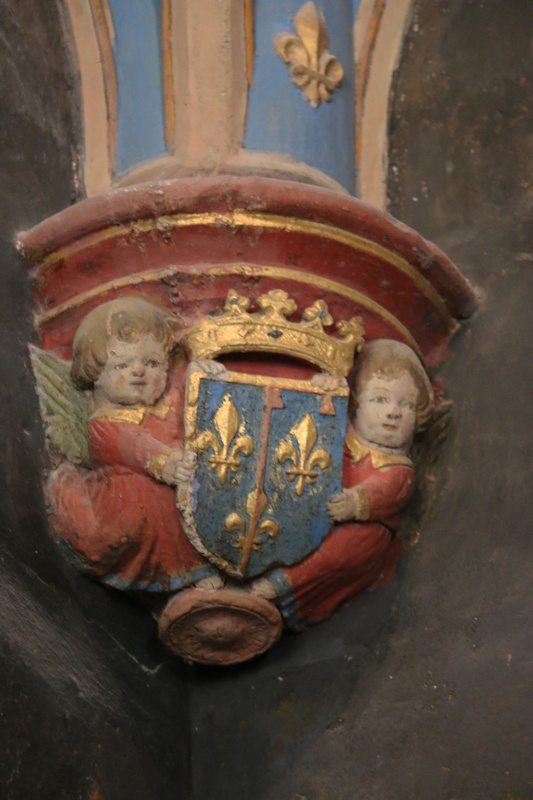 Detail-The chapel of Clos Lucé