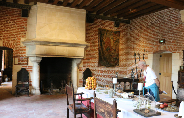The Great Room of Clos Lucé