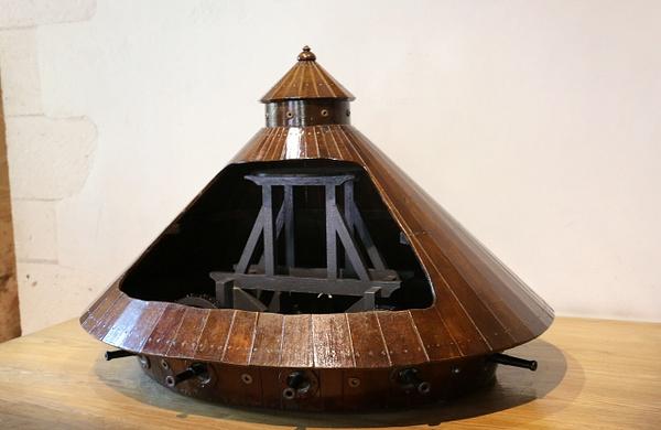 Tank design by da Vinci