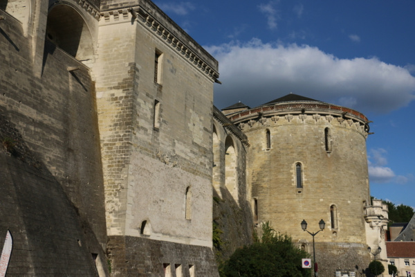 The formidable Château d'Amboise