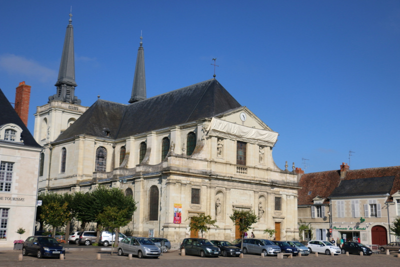 Eglise Notre Dame, in the heart of Richelieu