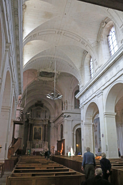 Interior, Church of Notre Dame
