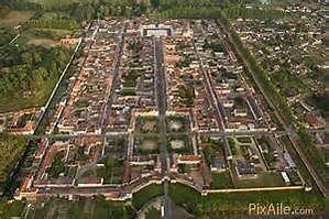 Birds-eye view of Richelieu