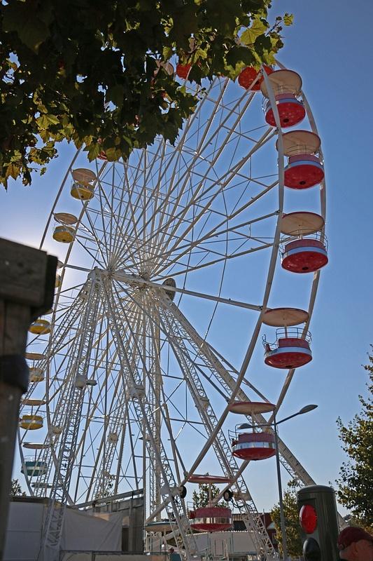 Ferris Wheel near La Rochelle's Old Port