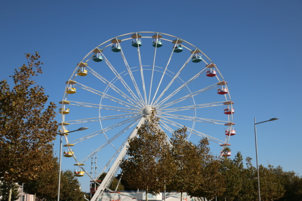 Ferris Wheel near the old port