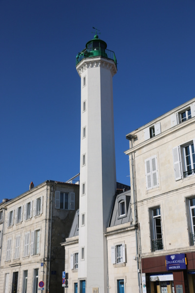 The 'Green Lighthouse' on Quay Maubec