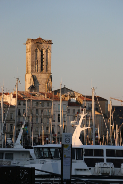 Bell Tower of Saint-Barthélémy, part of La Rochelle Cathedral