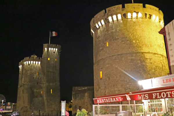 The twin towers of La Rochelle