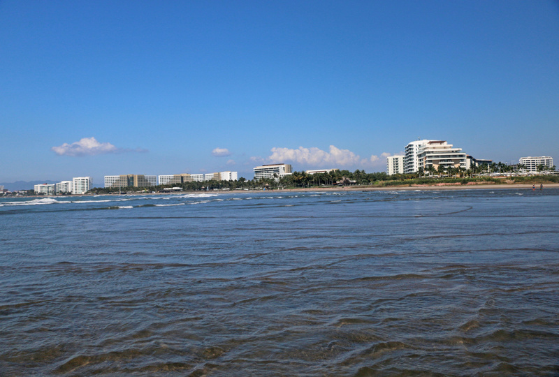 Panorama of the Vidanta Resort complex. Grande Luxxe on the far right.  (Monday)