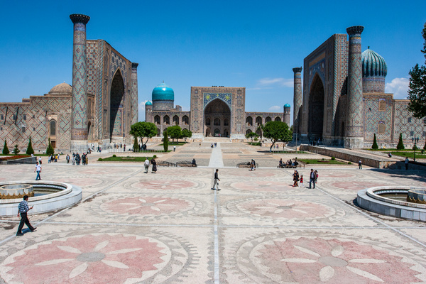 Samarkand by Vladyslav Kucheruk