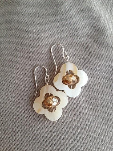 White_MOP_w_Dark_Champagne_Czech_crystal_silver_earrings