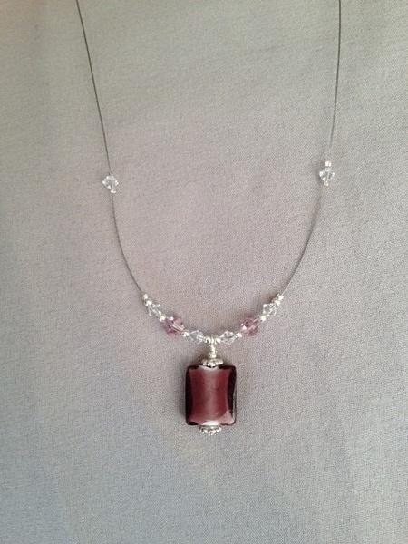 Grape_Glass_Necklace by MiroirDesigns