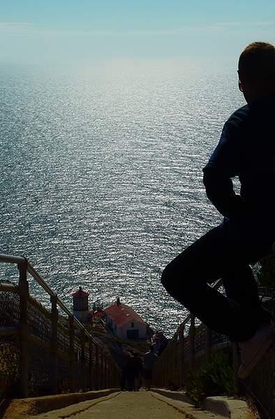 Point Reyes Lighthouse Steps