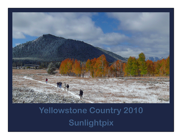 2010 Yellowstone Calendar - L by Sunlightpix