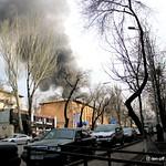 Пожар в Столичном 29.03.2013