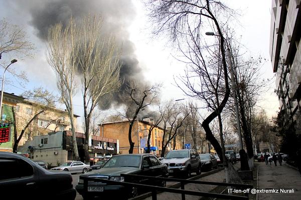 Пожар в Столичном 29.03.2013 by itlenoff