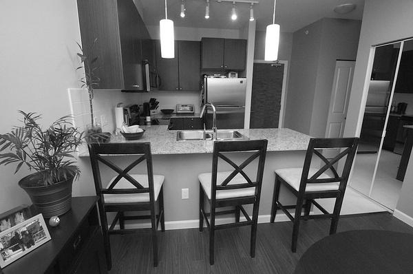 kitchen BW by AlGlaze